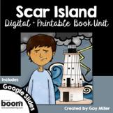 Scar Island Novel Study: vocabulary, comprehension, writing, skills