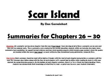 Scar Island Summaries Chapters 26-30