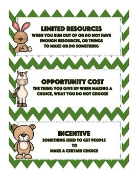 Scarcity, Choice, and Opportunity Cost Lesson