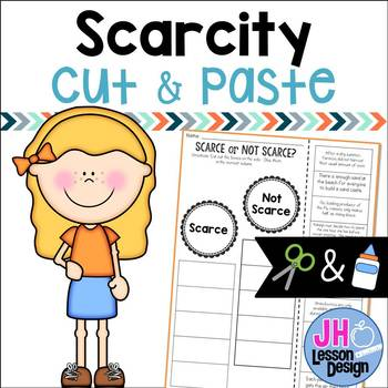 Scarcity: Cut and Paste Sorting Activity