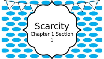Scarcity Lesson