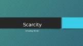 Scarcity - Reading Street 2.2.3 Amazing Words Powerpoint