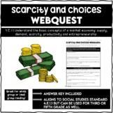 Scarcity and Choices Webquest 4.E.1.1