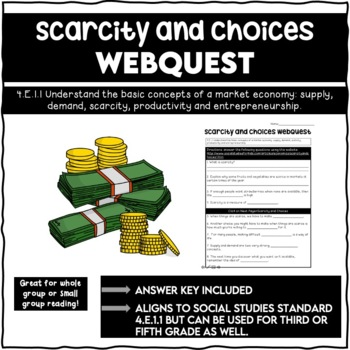 Scarcity and Choices Webquest 4.E.1.1