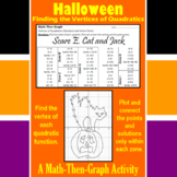 Scare E. Cat and Jack - A Math-Then-Graph Activity - Finding Vertices