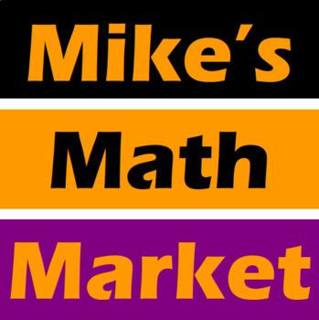 Scare O' Lantern - A Math-Then-Graph Activity - Solve 15 Systems