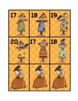 Scarecrow 10 Frame Game