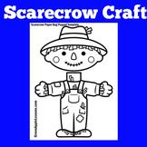 Scarecrow Craft | Scarecrow Craftivity | Scarecrow Activity