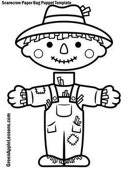 Scarecrow Craft | Scarecrow Craftivity | Scarecrow Activity