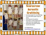 Scarecrow Acrostic Craftivity