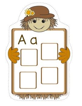 Scarecrow Alphabet Match