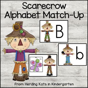 Scarecrow Alphabet Match-Up