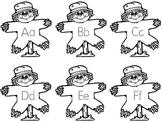Scarecrow Alphabet Tracing