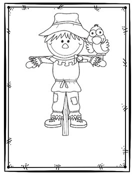 Scarecrow Book FREEBIE!