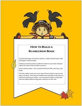Scarecrow Book/Writing