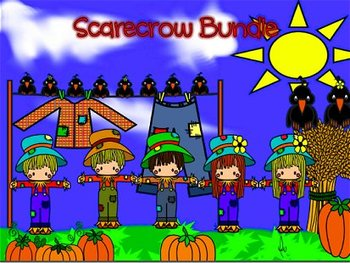 Thanksgiving Scarecrow and more Bundle