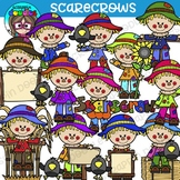 Scarecrow Clipart {Scrappin Doodles Clipart}