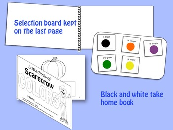 Scarecrow Colors LITTLE INTERACTIVE BOOK