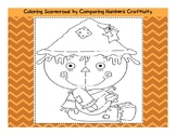 Scarecrow Comparing Numbers Craftivity Packet