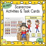 Scarecrow Clip Task Cards