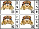 Scarecrow Count and Clip 1-10 & Counting Mats