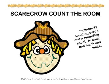 Scarecrow Count the Room