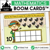 Scarecrow Counting Boom Cards™ | Ten Frames 1-10