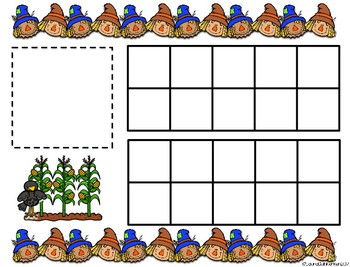 Scarecrow Counting Math-A Fun Number Sense Activity