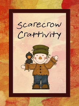 "Scarecrow Craft Activity ""Craftivity"""