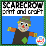 Scarecrow Craft Paper Activity and Creative Writing