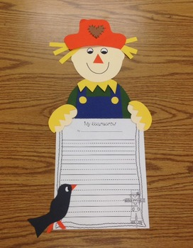 Scarecrow Craft Plus Writing Included!