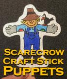 Scarecrow Craft Stick Puppet