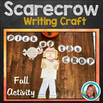Scarecrow Craft Writing Halloween Activities Fall Activities Bulletin Board Idea
