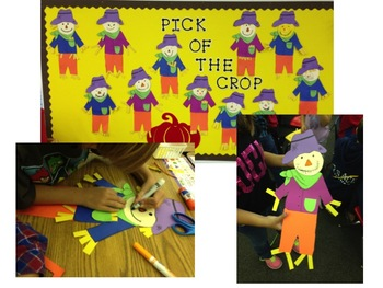 Scarecrow Craft: a craftivity and printables for the Fall