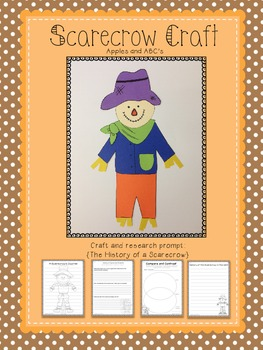Scarecrow Craft: a research project and craftivity