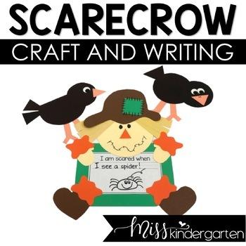 Fall Craft Scarecrow Craft and Writing Templates