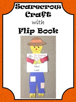 Scarecrow Craft with Sequencing Flip Book