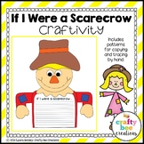 Scarecrow Craft {If I Were a Scarecrow Writing Prompts}