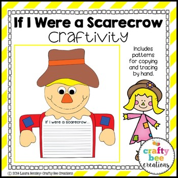 If I Were A Scarecrow Craftivity