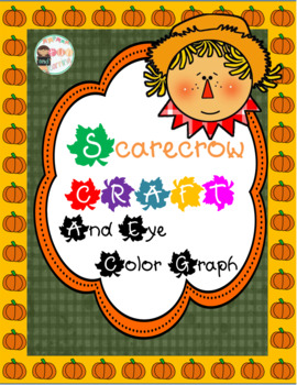 Scarecrow Craftivity and Eye Color graph