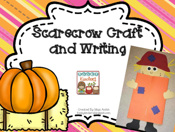 Scarecrow Craftivity and Writing Prompts
