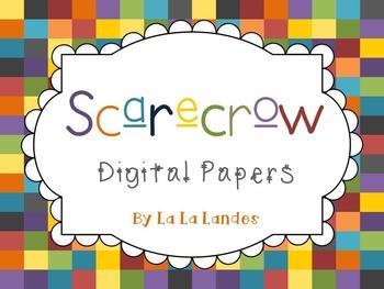 Scarecrow Digital Paper Bundle for TPT Sellers