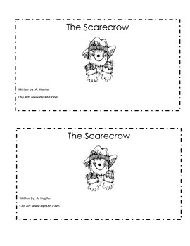 Scarecrow Emergent Reader