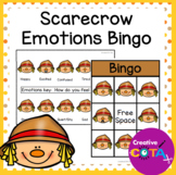 Scarecrow Emotions and Feelings Bingo