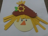 Scarecrow Face Craft Kit ~~ Fall
