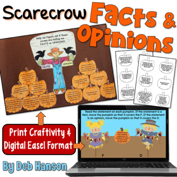 Fact and Opinion Craftivity