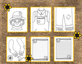 Scarecrow Fall Craftivity