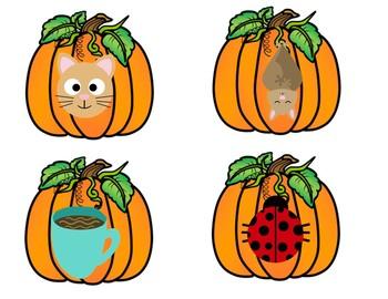 Scarecrow Fall Rhyming Pumpkin Game