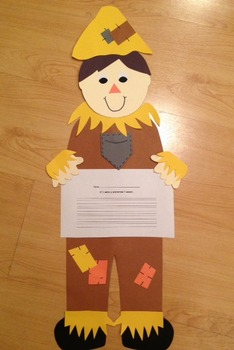 Scarecrow Craftivity & Printables (Fall/Autumn)