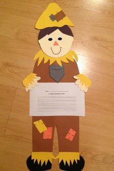 Scarecrow Craftivity & Printables (Fall/Autumn)